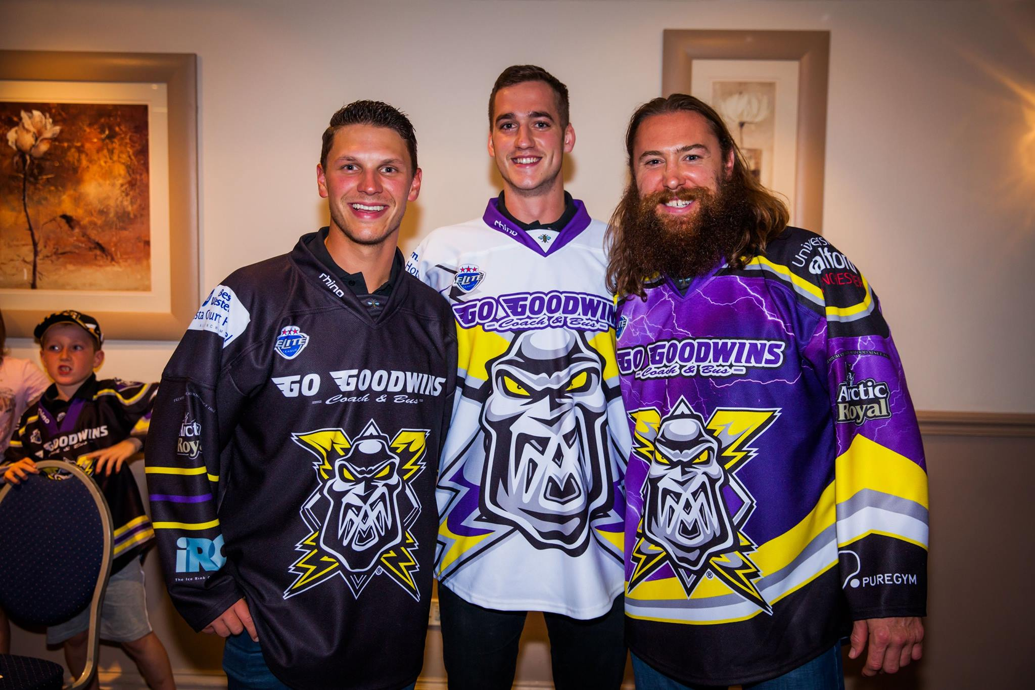 a466e9e38 What s the buzz with the Storms new jerseys  – Manchester Storm