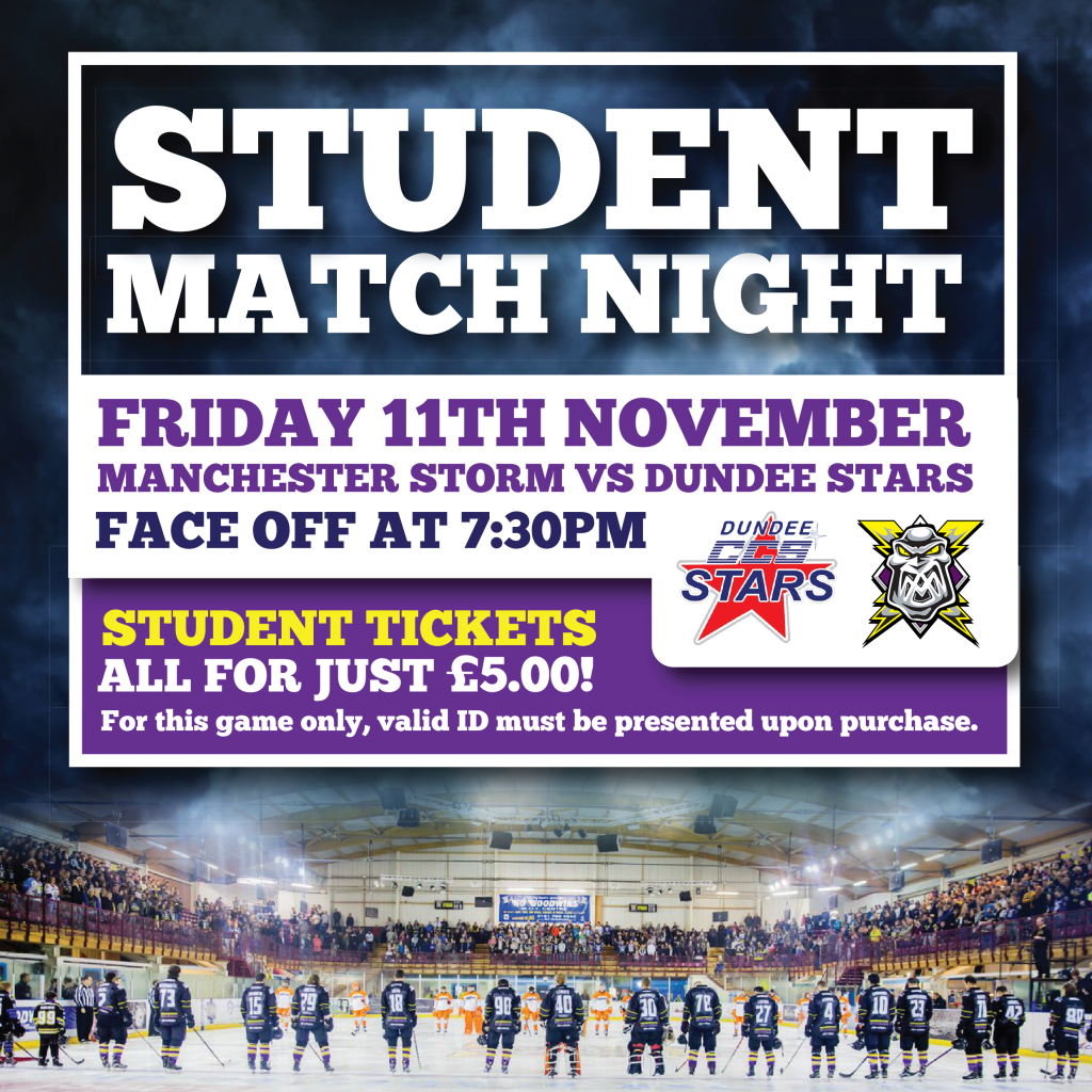 Storm Student Night Offer