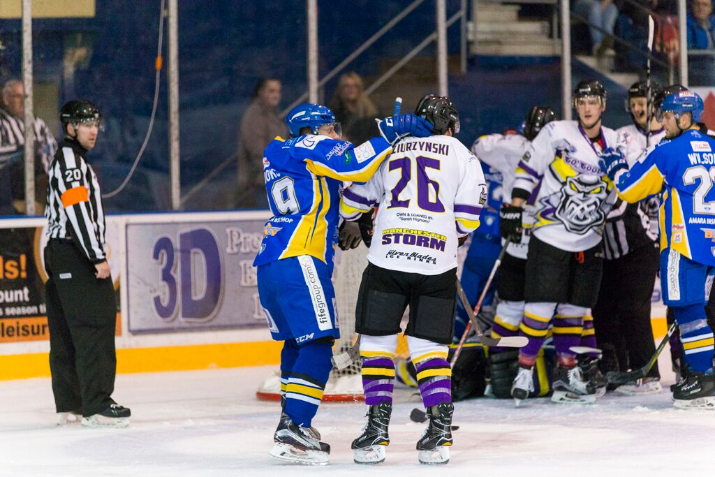 Storm bring Flyers down to earth! – Manchester Storm
