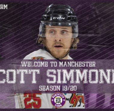 BREAKING NEWS: WELCOME TO MANCHESTER, SCOTT SIMMONDS!