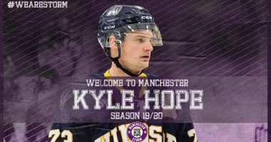 Breaking News: Welcome to Manchester, Kyle Hope