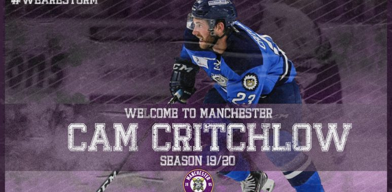Breaking News: Welcome to Manchester, Cameron Critchlow!