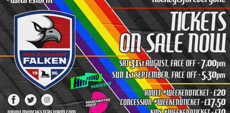 Manchester Pride joins forces with the Storm!