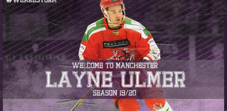 BREAKING NEWS: WELCOME TO MANCHESTER, LAYNE ULMER!