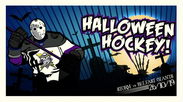 HALLOWEEN GAME: Storm face the Giants!