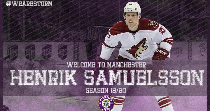 NHL first round draftee Henrik Samuelsson joins the Storm!