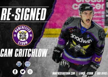 Manchester Storm announce second signing of 20/21 eihl campaign