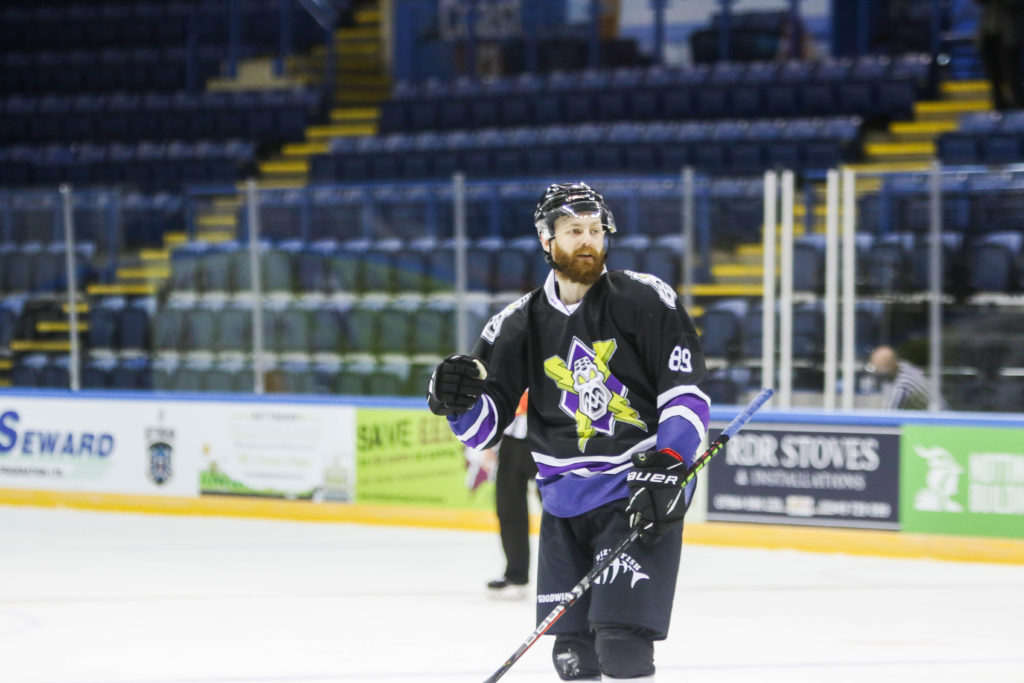 Ciaran Long scores first goal for Manchester Storm in Elite Series