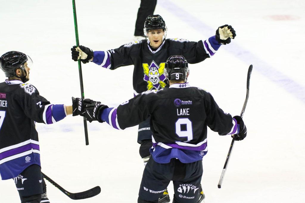 Ben Lake scores overtime goal elite series