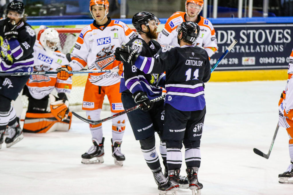 ciaran long ties the game on the powerplay photo by mark ferriss all spots photography